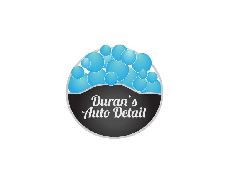 Duran's Auto Detail Brand Identity logo & graphic design by Rodezno Studios.