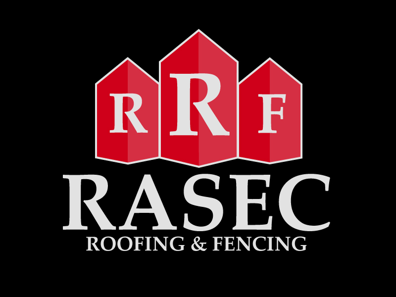 Rasec Roofing & Fencing Brand Identity logo & graphic design by Rodezno Studios.
