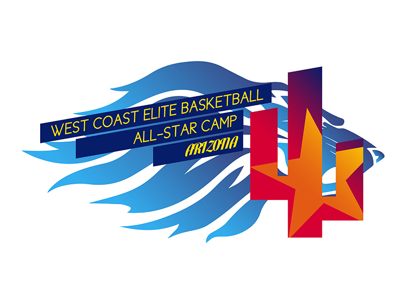 WCEB All-Star Camp Arizona logo by Rodezno Studios