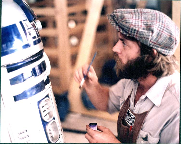 Grant McCune painting R2D2 picture